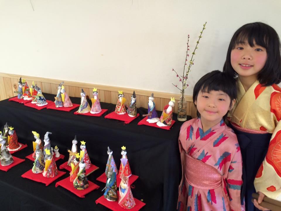 今日はお雛様イベントで福山の保育園で演奏です