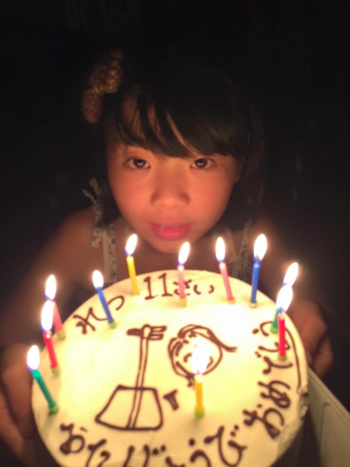竜二の手作りケーキ