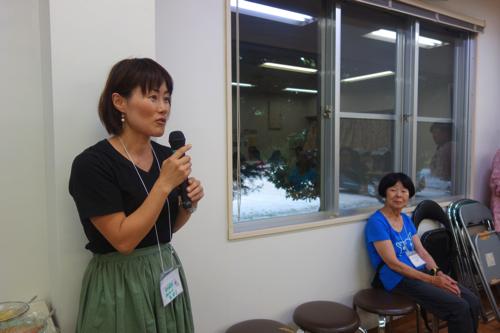 2年前にプロジェクトに参加して、その後香川に移住した光井さんが手伝いにきてくれました