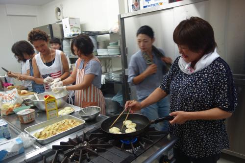 朝ごはんは福島のお母さんたちと合作