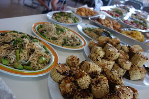 その他にはたくさんの料理が並びました。