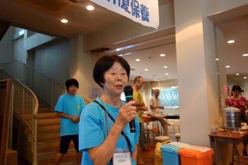 和子さん、毎日大きなヤカンでの麦茶作りやお掃除、子守をありがとう。10日間の疲れは相当だと思います。ゆっくり休んでねー。