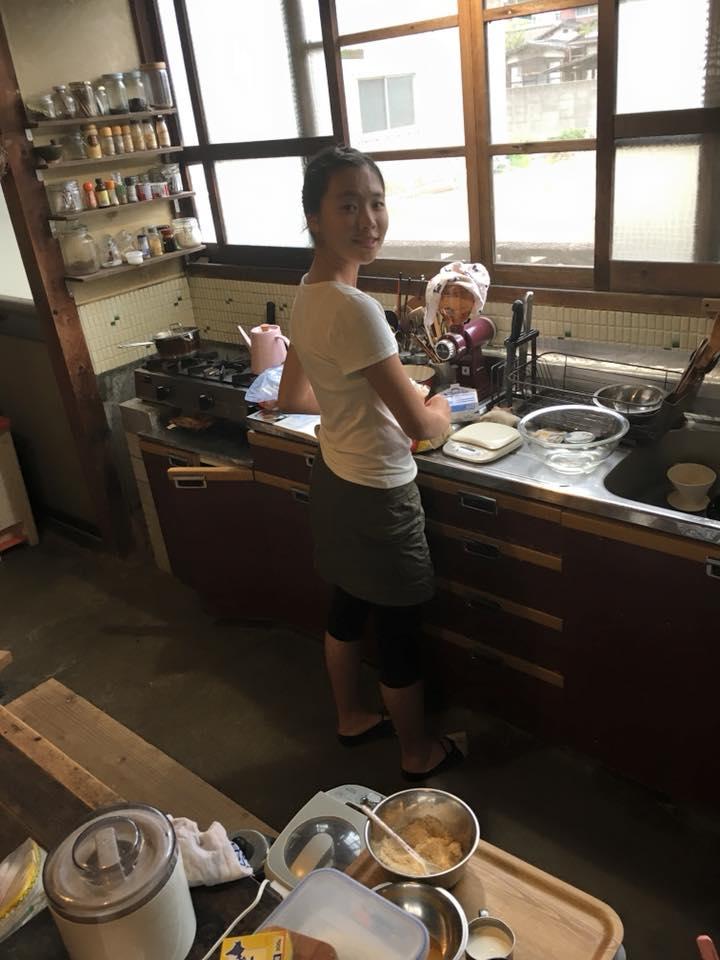 娘が手料理