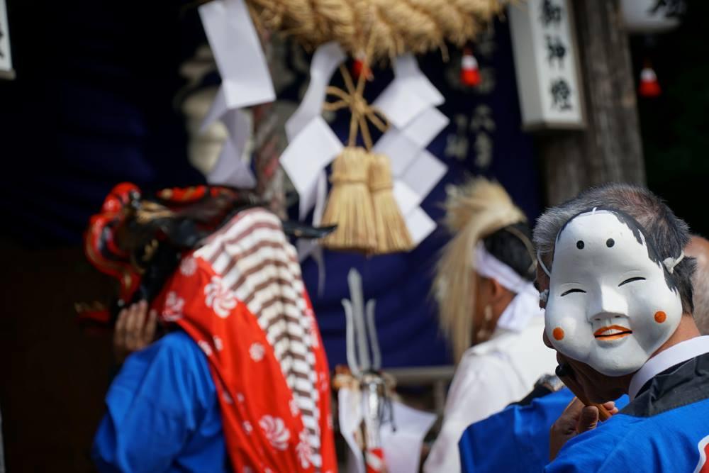 畝山神社、秋の大祭
