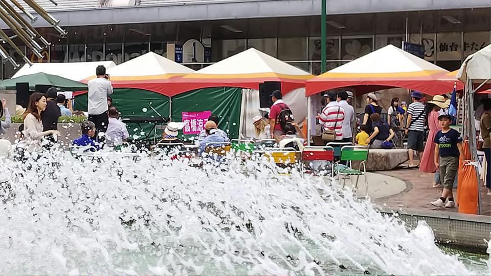 2019年の夏保養の準備〜biZen鼓空のメンバーが街頭募金してくれました!〜